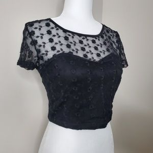 Pins & Needles Urban Outfitters crop top size L